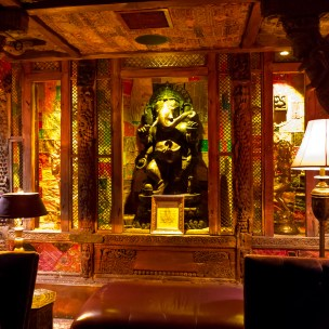 Ganesh, in the Foundation Room, a private club at the House of Blues