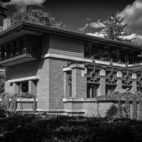 The Meyer May House, by Frank Lloyd Wright