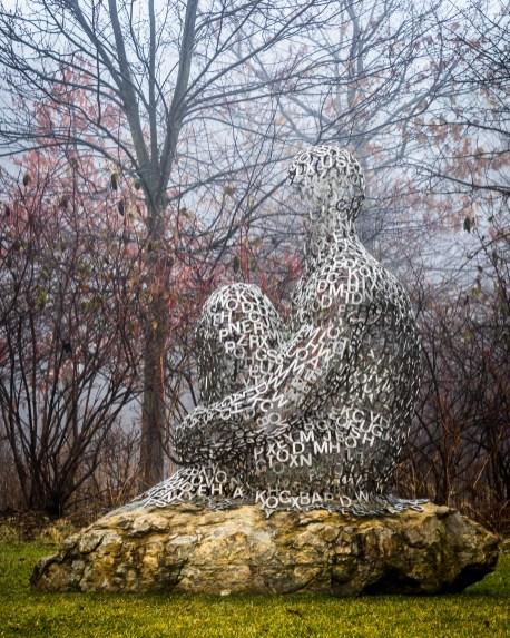 I, you, she or he…, by Jaume Plensa
