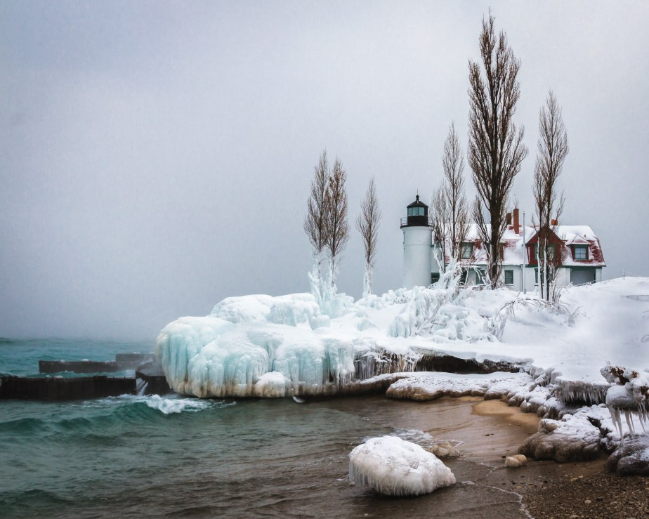 Point Betsie Lighthouse -7882a