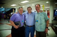 Airport runs with Jerry Tucker, picking up Wess Stafford