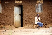 Photographing in the In the Rikkai area of Uganda, the epicenter of the AIDS epidemic.