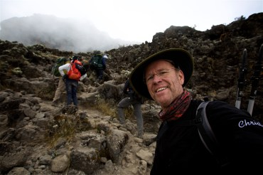 Climbing Mount Kilimanjaro for a cause.... learning to breathe at over 19,000', the climb of my life