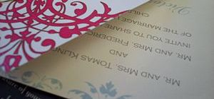 Select Your Wedding Invitation Online