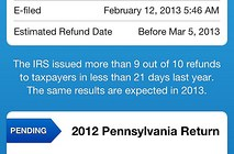 Reasons To File Early with TurboTax 2013