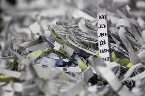 paper shredders photo