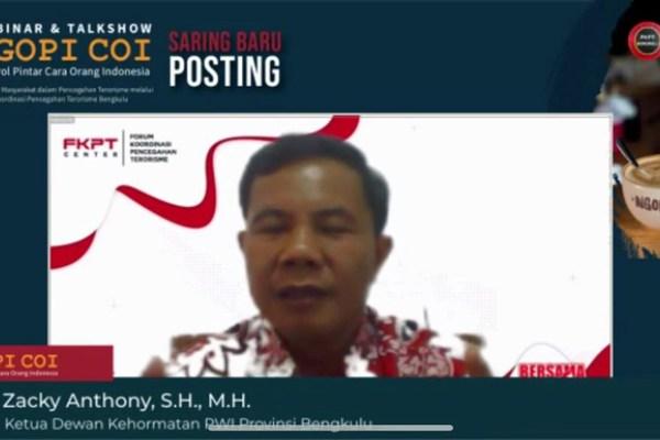 BNPT: Milenial, Saring Dulu Baru Posting