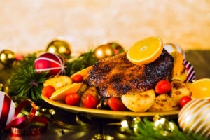 A holiday feast can be loaded with extra calories, so choose your food wisely.