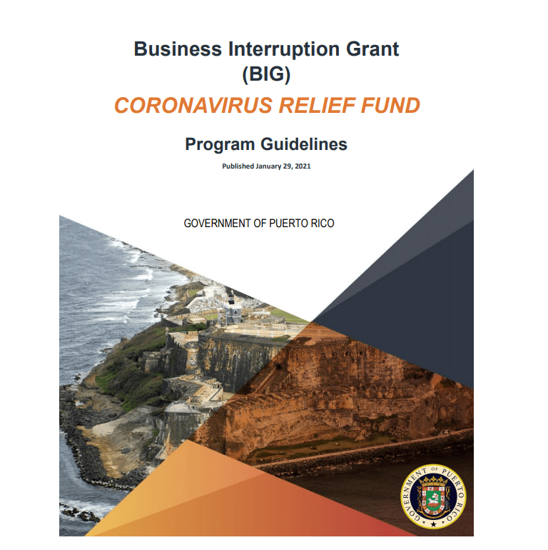 business interuption grant