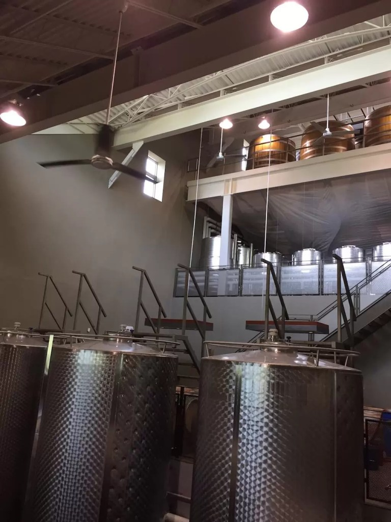 Cuves - Tawse Winery