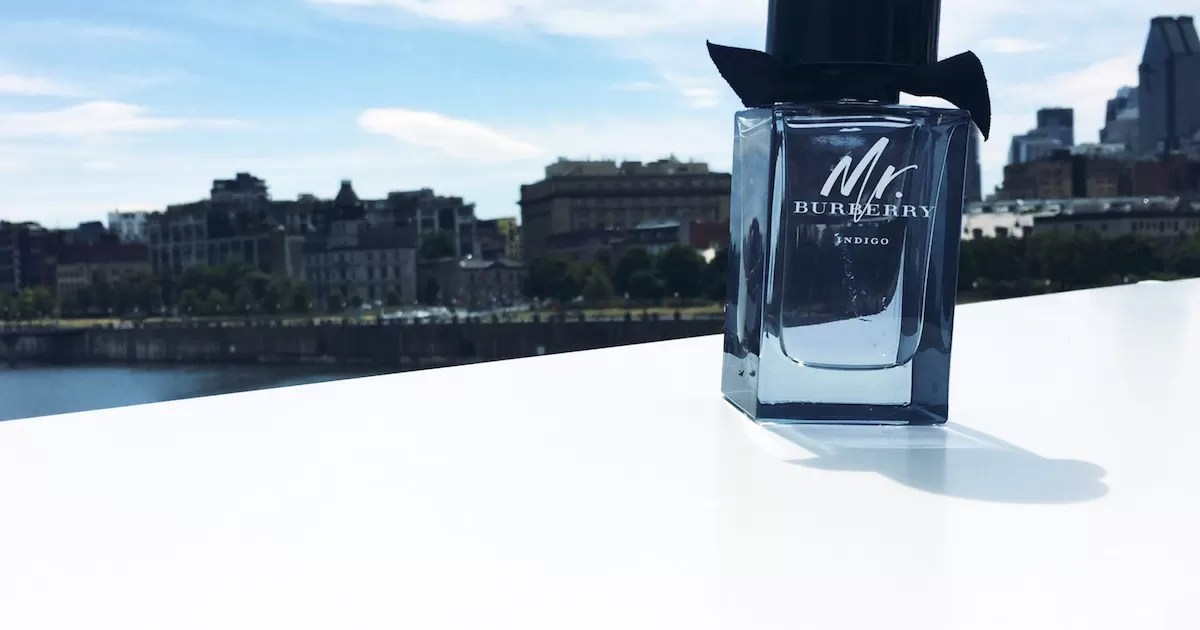 Mr. Burberry Indigo for Men - Bottle - Old Port of Montreal-web