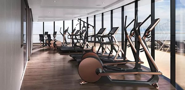 La Collection Yacht de Ritz-Carlton - Gym