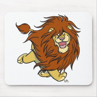 Hair in Movement mousepad mousepad