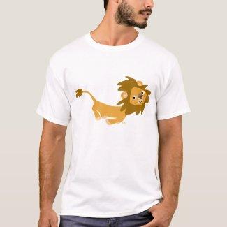 Cute Running Lion T-shirt shirt