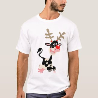 Christmas Reindeer counterfeit T-shirt shirt
