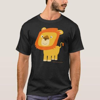 cartoony lion shirt