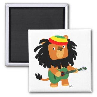 Lion of Zion magnet
