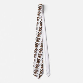 Lil'Tiger tie (tiled) tie