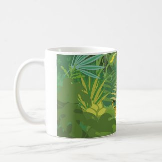 In the Jungle mug mug