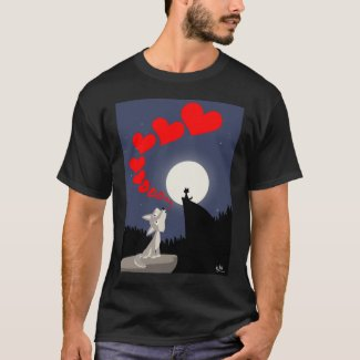 The Call of Love T-shirt (design on the front)