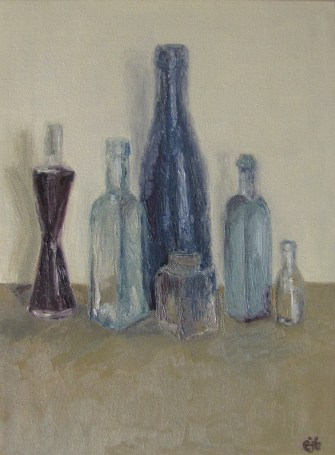 Bottles Through Surgery Eye III (30x40cm)