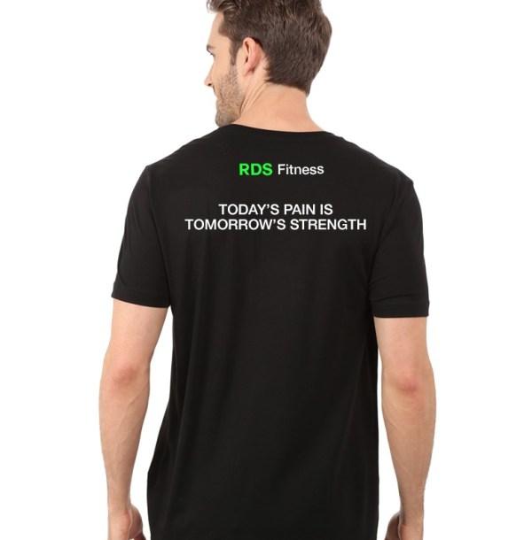 Black RDS T-shirt Back