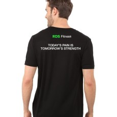 Black RDS T-shirt Back