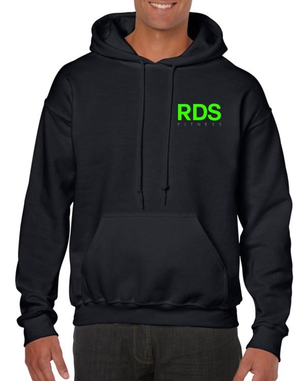 Black RDS Hoodie Front