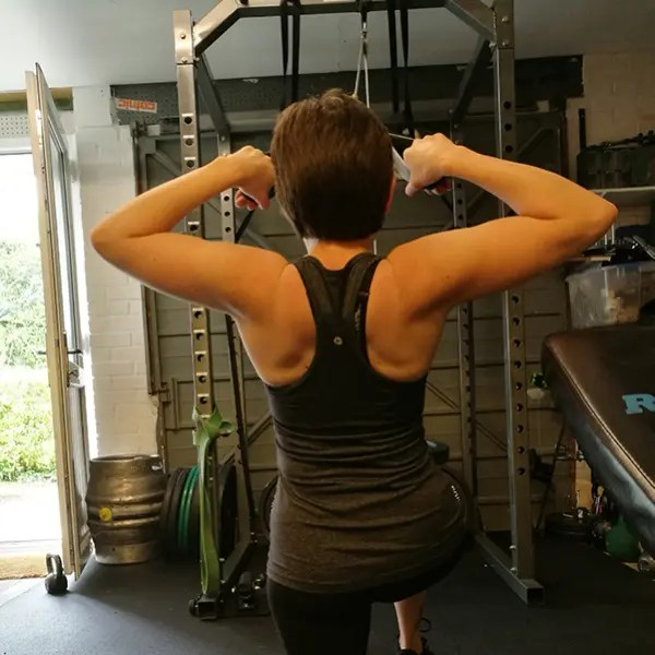 Face pulls for strong shoulders and good posture