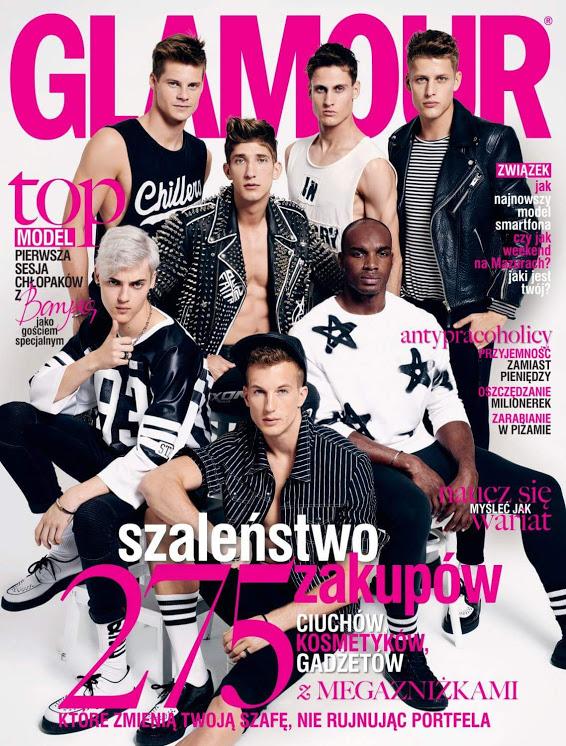 radek pestka x glamour cover