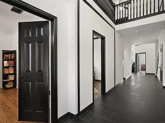 Main entry west at our new West Plano sober living