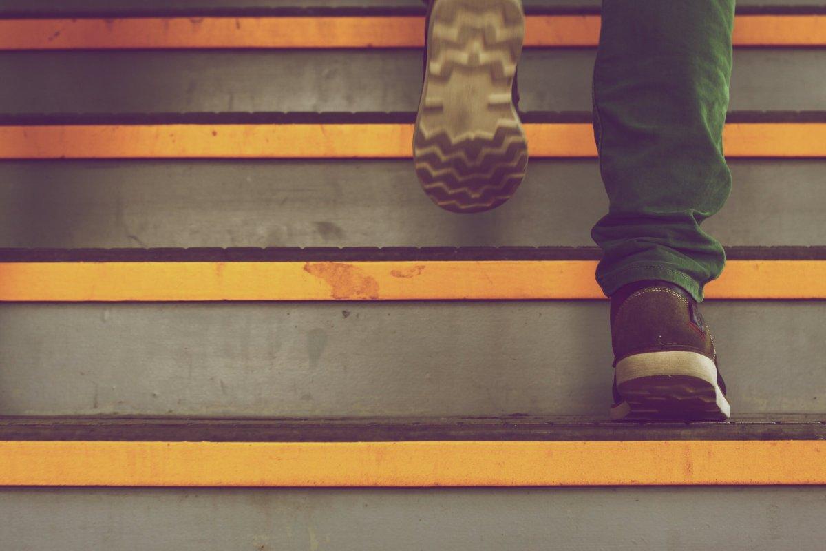 Blog- Stepping Up