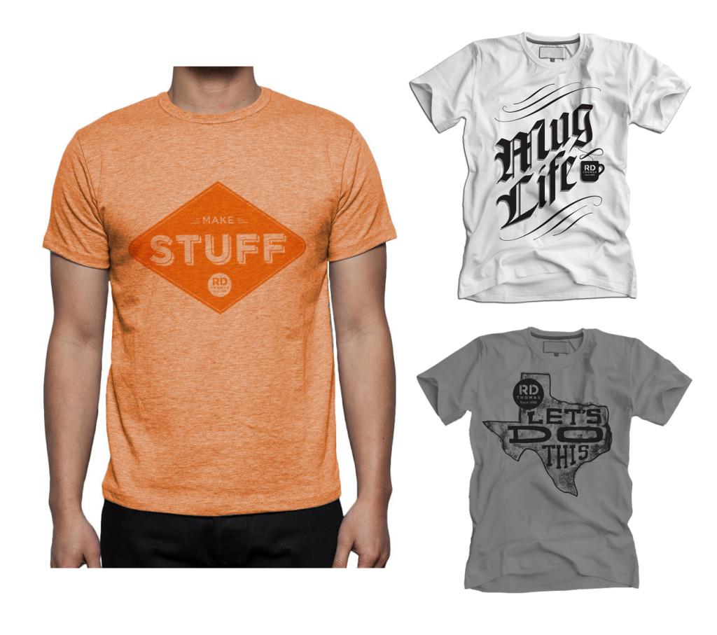 RD Thomas Advertising T-Shirts
