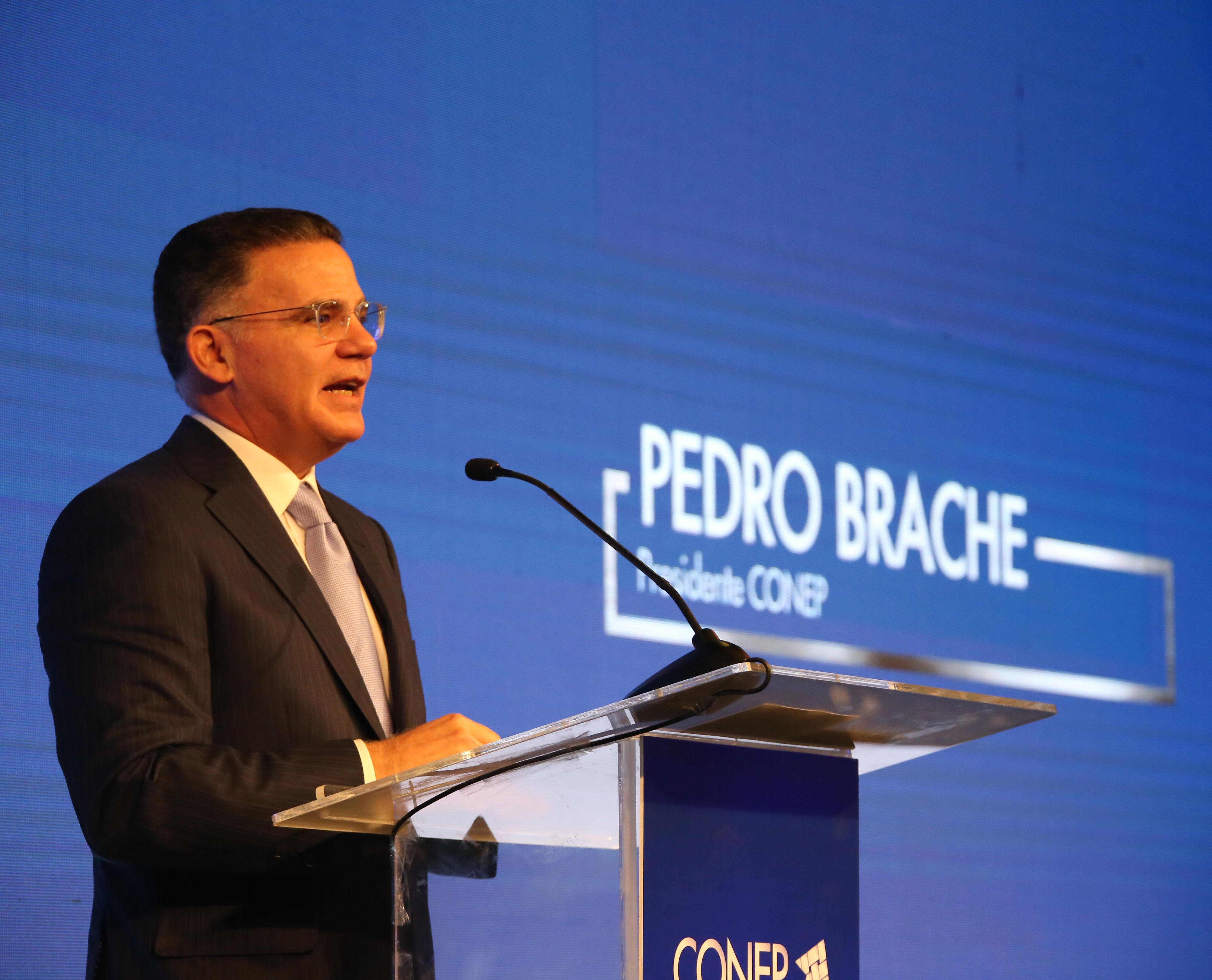 Pedro Brache es el presidente del Conep