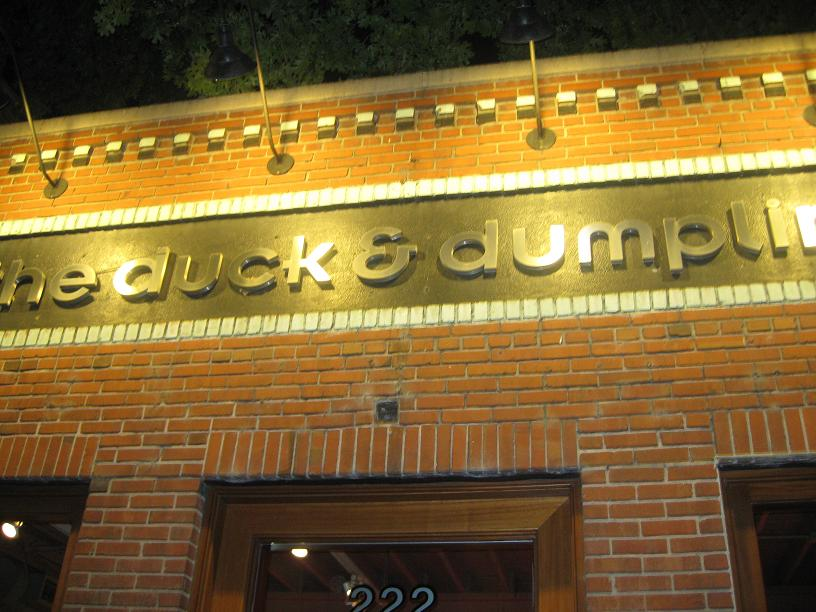 The Duck and Dumpling
