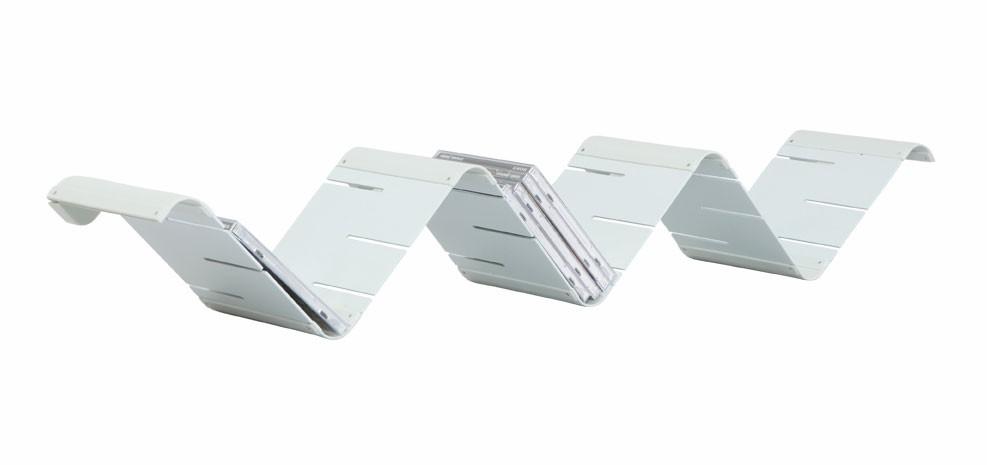 etagere modulable zigzag blanche
