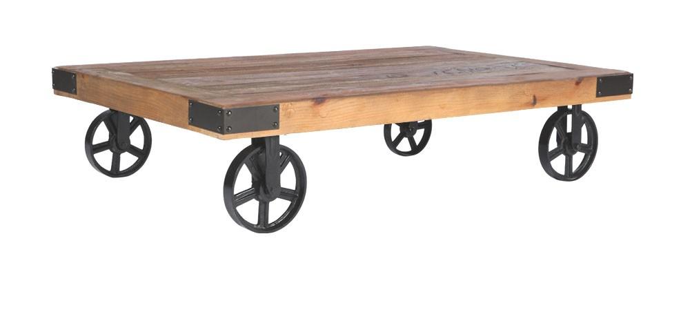 Table Basse Roulettes Achetez Nos Tables Basses