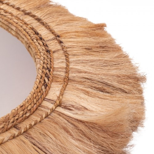 miroir pakito en matiere naturelle 90 cm