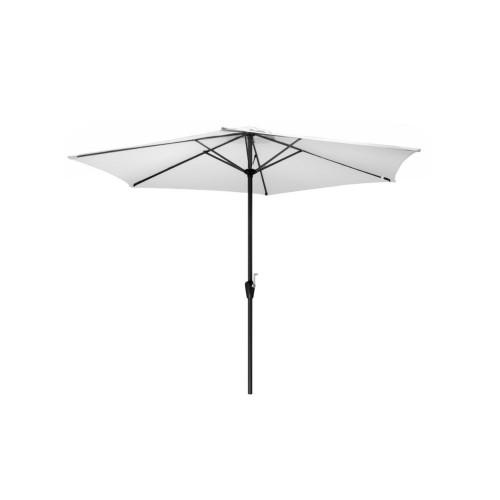 parasol droit manivelle grade 3x2 m blanc