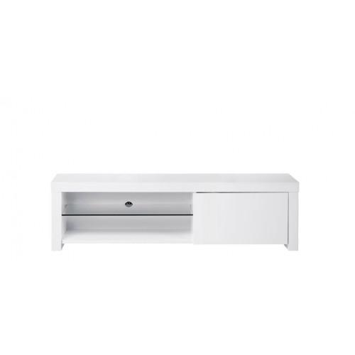 meuble tv atlas blanc