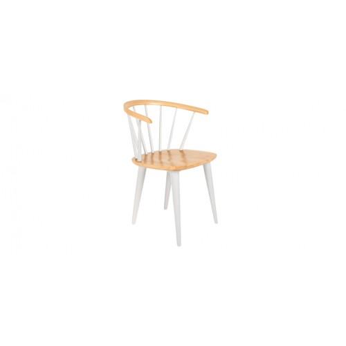 chaise gee blanche lot de 2