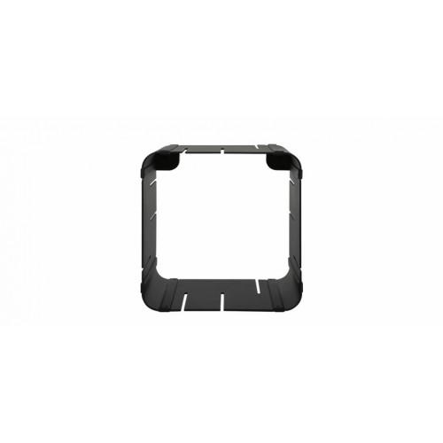 etagere modulable cube noire