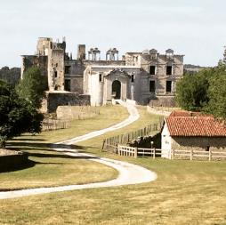Le château de Gramont à Bidache