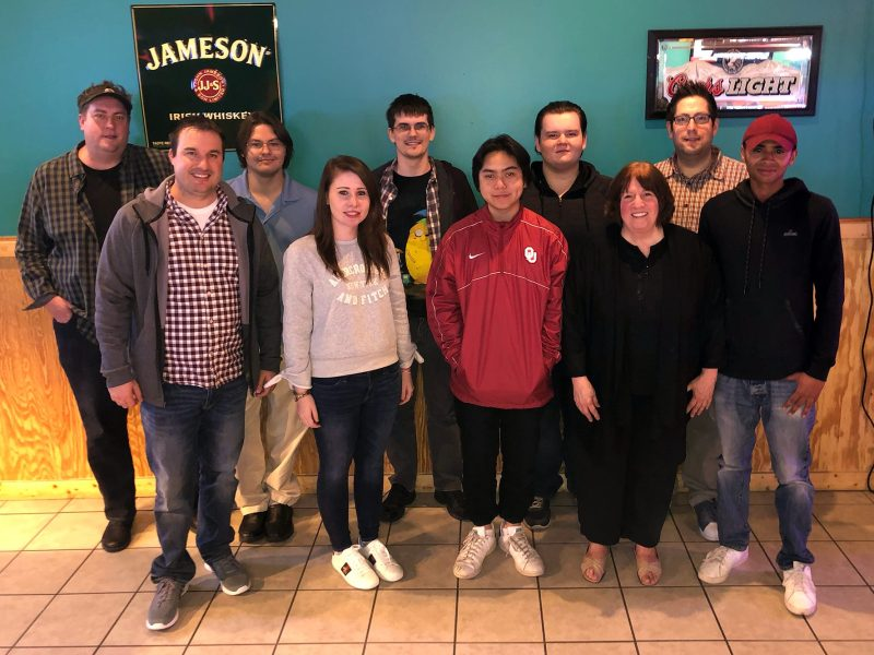The RdyToGo Team. Staff members from left to right; Brett, Josh, Derek, Nikki, Devin, Jeremy, Chris, Linda, Kevin, and Casey.