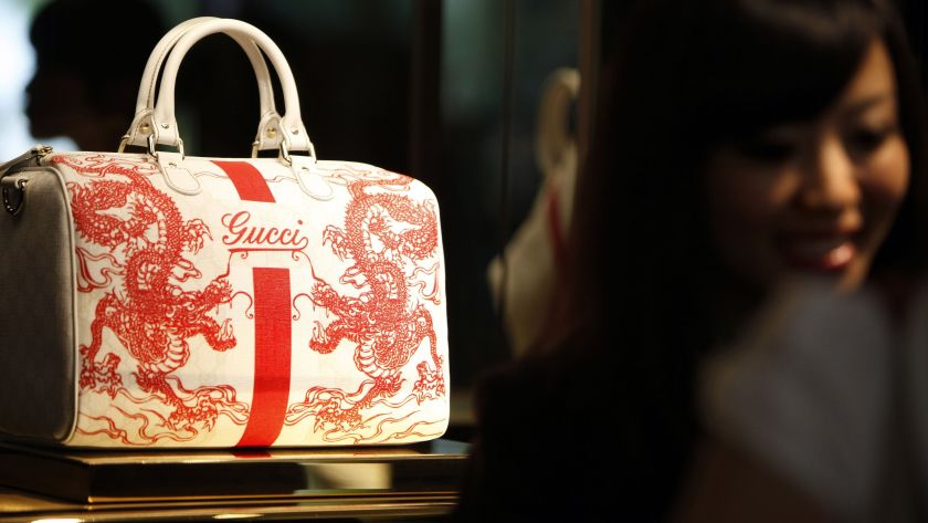 Gucci bag in China lowered in pricing due to import duties change
