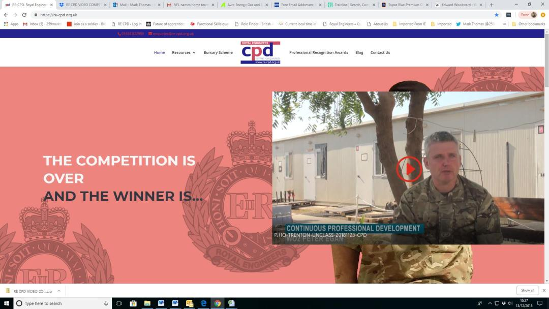 Winner of the RE CPD Video Competition