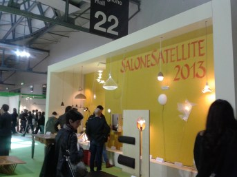 SaloneSatellite Award Hall 2013