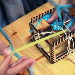 Weaving bracelets on RE's Cubic Looms