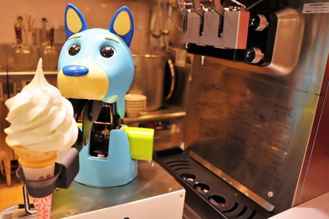 Connected Robotics Co., Ltd. Exhibition Soft serve ice cream robots are now  available at CAFERES JAPAN! - Japan NEWS