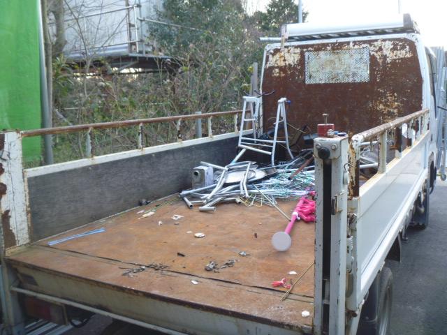 2トントラック荷台